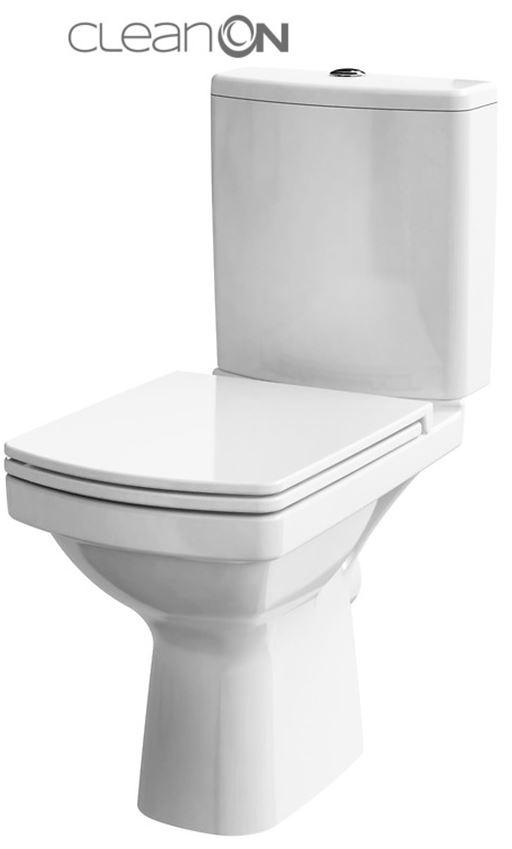 CERSANIT WC KOMBI 606 EASY NEW CLEANON 011 3/5 BEZ SEDÁTKA BOX K102-030