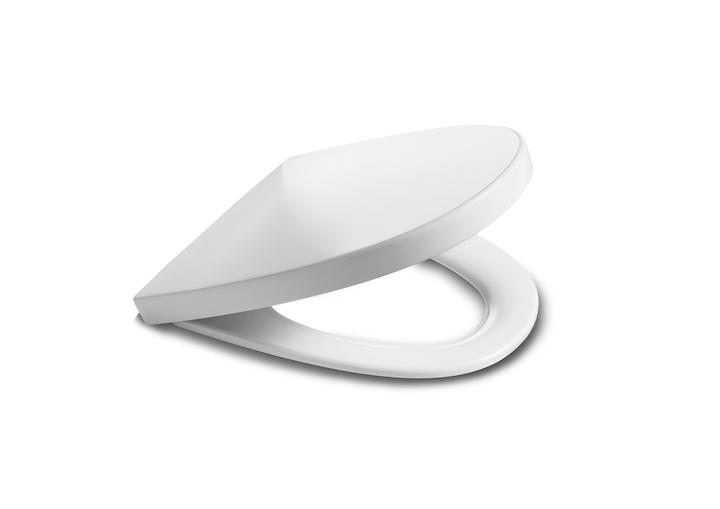 ROCA - Studio line - sedátko s poklopem KHROMA slowclose, bílé (A801652004)