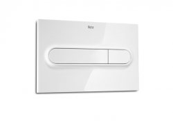 ROCA - PL1 Dual - tlačítko pro podomítkové moduly, bílá (A890095000)