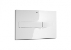ROCA - PL2 Dual - tlačítko pro podomítkové moduly, bílá (A890096000)