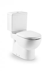 ROCA - Zvýšená WC mísa MERIDIAN kapotovaná kombi, hluboké splachování, vario odpad (A34224H000)
