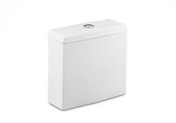 ROCA - WC nádrž MERIDIAN, armatura Dual flush  3/6 l, spodní levý přívod vody (A34124H000)