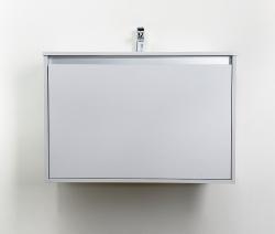 CEDERIKA - Amsterdam umyvadlová skříňka šíře 75, 1x šuplík, světle šedá +umyvadlo (CA.U1B.111.075UM), fotografie 10/10