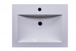 Amsterdam umyvadlová skříňka šíře 60, 1x šuplík, metallic +umyvadlo + galerka (CA.U1B.133.060UMG) - VÝPRODEJ, fotografie 22/13