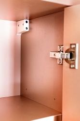CEDERIKA - Amsterdam umyvadlová skříňka šíře 75, 1x šuplík, metallic +umyvadlo + galerka + sloupek (CA.U1B.133.075UMGS), fotografie 16/13