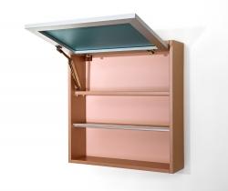 CEDERIKA - Amsterdam umyvadlová skříňka šíře 75, 1x šuplík, metallic +umyvadlo + galerka + sloupek (CA.U1B.133.075UMGS), fotografie 20/13