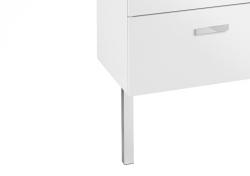 Nohy VICTORIA 300 mm, pro umyvadlové skříňky a závěsnou skříňku, vždy pouze 1 pár, chrom (A816413001) - ROCA