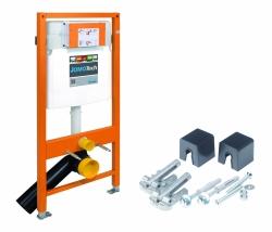 AKCE/SET/JOMO - SET JOMO Duofix modul pro závěsné WC + tlačítko + montážní sada + sedátko + WC CERSANIT CLEANON CARINA (174-91100900-00 CA3), fotografie 6/9