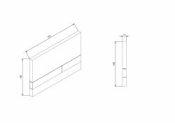AKCE/SET/JOMO - SET JOMO Duofix modul pro závěsné WC + tlačítko + montážní sada + sedátko + WC CERSANIT CLEANON CARINA (174-91100900-00 CA3), fotografie 8/9