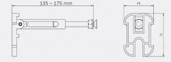 AKCE/SET/JOMO - SET JOMO Duofix modul pro závěsné WC + tlačítko + montážní sada + sedátko + WC CERSANIT CLEANON CARINA (174-91100900-00 CA3), fotografie 18/9