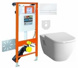 JOMOTech Sada Hygienic a WC mísa VitrA D-Light (174-91181400-00 SET)
