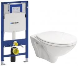 AKCE/SET/GEBERIT - SET Duofix pro závěsné WC 111.300.00.5 bez ovládací desky + WC CERSANIT MITO + SEDÁTKO (111.300.00.5 MI1)