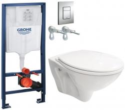 AKCE/SET/GROHE - Rapid SL Rapid SL pro závěsné WC 38528SET + WC CERSANIT MITO + SEDÁTKO (38772001 MI1)
