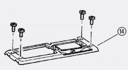 JOMO - Upevňovací rámeček pro ovládací desku TOP6 (171-61201000-00)