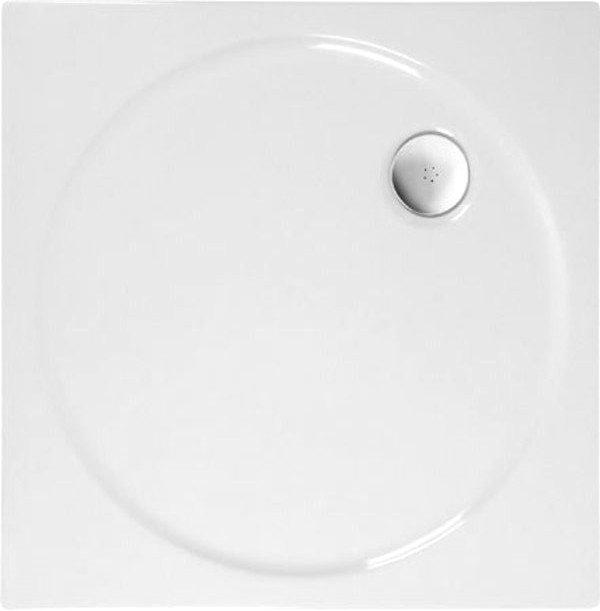 TOSCA sprchová vanička akrylátová, čtverec 80x80x4cm, bílá (52111)
