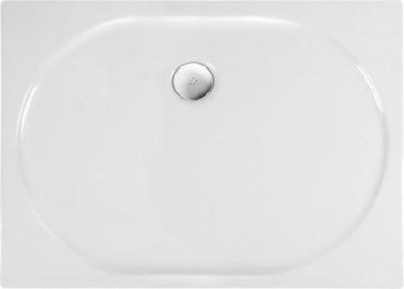 POLYSAN - ELIPSA sprchová vanička akrylátová, obdélník 120x90x4cm, bílá (55511)