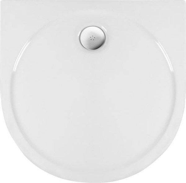 RIO sprchová vanička akrylátová, půlkruh 90x90cm, bílá (72111)