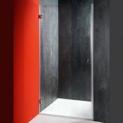 AQUALINE - FONTE sprchové dveře 800mm, čiré sklo (2102-01/80)