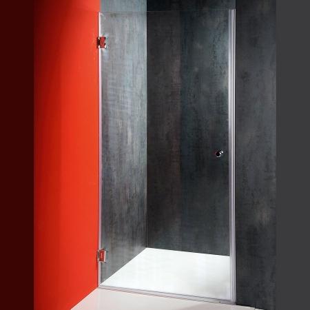 FONTE sprchové dveře 900mm, čiré sklo (2102-01/90) - AQUALINE