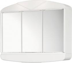 AQUALINE - ARCADE galerka 58x50x15,5cm, 2x12W, bílá plast (411342)