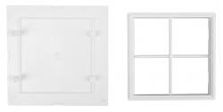 AQUALINE - Vanová dvířka 150x150mm, bílá (5005), fotografie 6/3