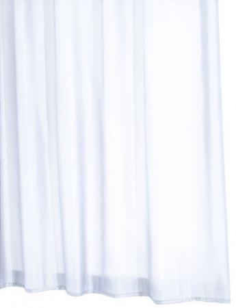 RIDDER - MADISON sprchový závěs 180x200cm, polyester, bílá (45301)