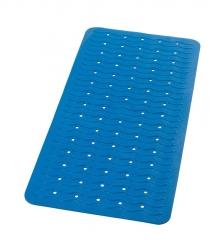 RIDDER - PLAYA podložka 38x80cm s protiskluzem, kaučuk, modrá (68303)