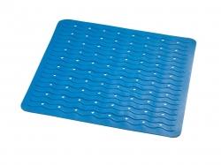 RIDDER - PLAYA podložka 54x54cm, s protiskluzem, kaučuk, modrá (68403)