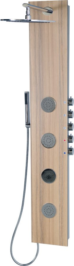 5SIDE ROUND sprchový panel 250x1550mm, kokos (80212)