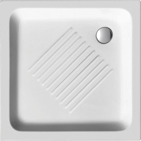 GSI - Keramická sprchová vanička, čtverec 80x80x10cm (438011)