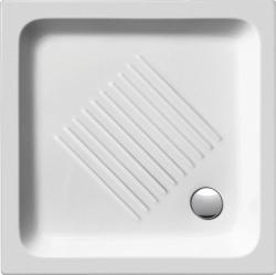 GSI - Keramická sprchová vanička, čtverec 80x80x10cm (438011), fotografie 2/1