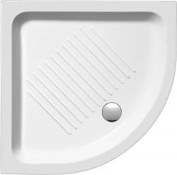GSI - Keramická sprchová vanička, čtvrtkruh 90x90x12cm, R550 (449011), fotografie 2/1