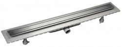 Omp Tea - ESSEFLOW 92 nerezový sprchový kanálek s roštem, 920x66x80 mm (6973.301.8)