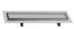 SAPHO - FLOW 77 nerezový sprchový kanálek s roštem pro dlažbu, 770x150x82 mm (FP214)