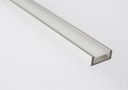 Sapho Led - LED U profil 15,2x6mm, eloxovaný hliník, 1m (KL1888-1), fotografie 6/5