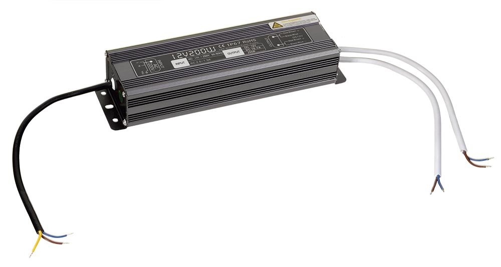 LED driver 200W, 230/12V, vodotěsný (LDR200)