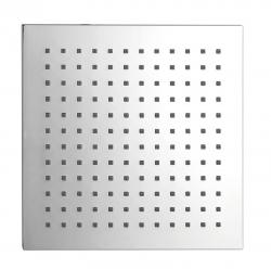 SAPHO - Hlavová sprcha čtverec 204x204 mm, ABS/chrom (SK824)