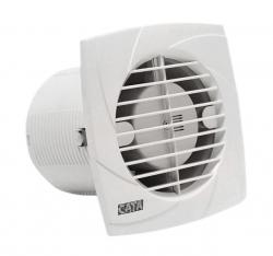 CATA - B-10 PLUS C koupelnový ventilátor se šňůrkou, 15W, potrubí 100mm, bílá (00981201)