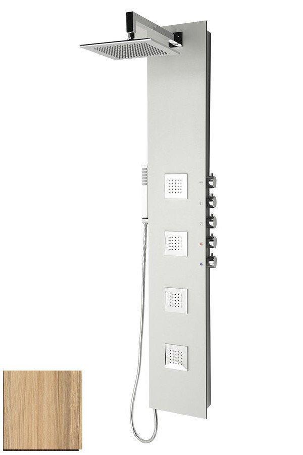 5SIDE SQUARE sprchový panel 250x1550mm, kokos (80222)