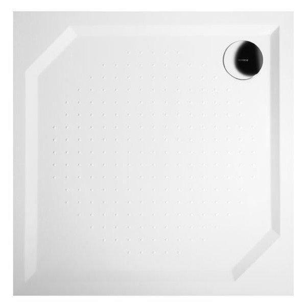 GELCO ANETA80 sprchová vanička z litého mramoru, čtverec 80x80x4cm GA008