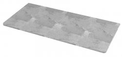 SAPHO - PURA deska Rockstone 982x495 mm, bez otvoru (RP100)