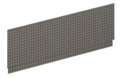 POLYSAN - DUPLA 180 TIFA panel čelní (13909)