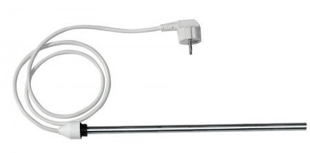 AQUALINE - Elektrická topná tyč bez termostatu, rovný kabel, 300 W (LT90300)