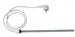AQUALINE - Elektrická topná tyč bez termostatu, rovný kabel, 600 W (LT90600)
