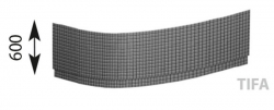 POLYSAN - EVIA R 160 TIFA panel rohový (12919)