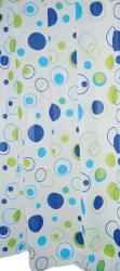RIDDER - KREISE sprchový závěs 180x200cm, bez závěsných kroužků, vinyl (303080)
