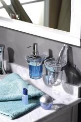IBB - LONDON dávkovač mýdla, akryl/chrom (LD01D), fotografie 2/2