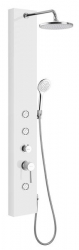 DIVA sprchový panel 200x1450 mm, bílá (SL270) - AQUALINE
