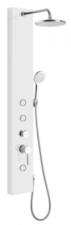 AQUALINE - DIVA sprchový panel 200x1450 mm, bílá (SL270)