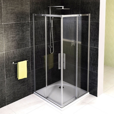 POLYSAN - ALTIS LINE čtvercová sprchová zástěna 900x900mm, čiré sklo (AL1615)